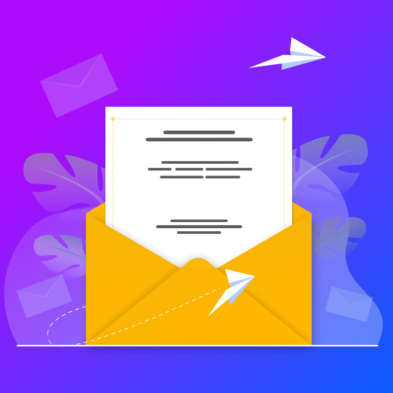 Receiving Mail Letter Free Vector Figma Template