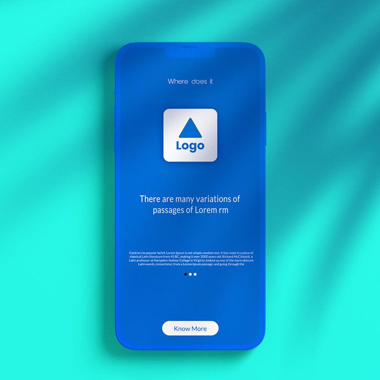 Smartphone Mockup Free PSD Template