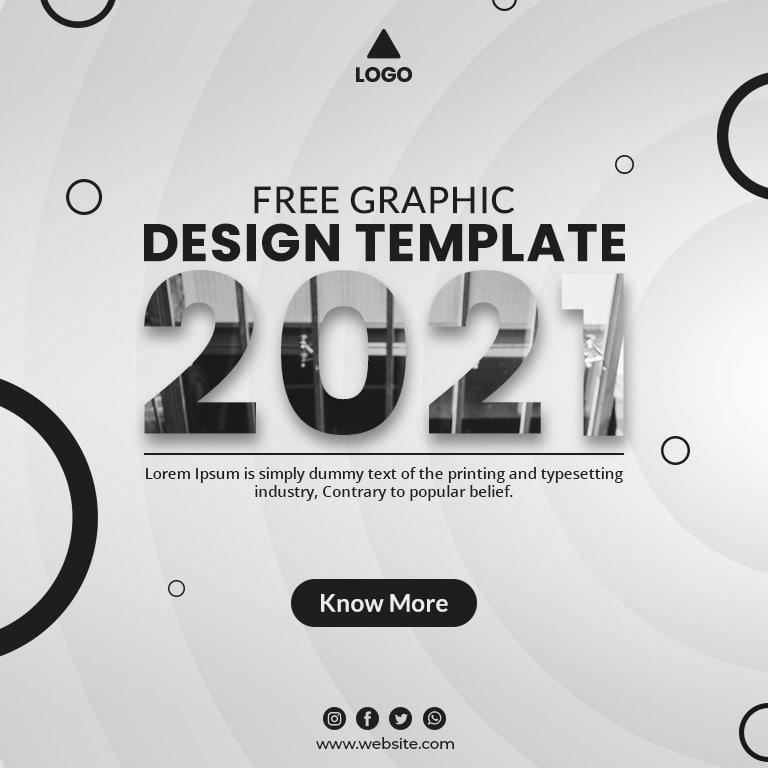 White Color Theme Banner Design