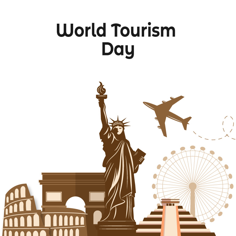 World Tourism Day Free Vector