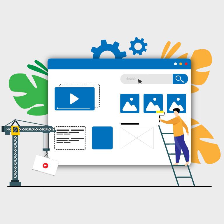 Digital Marketing Vector Design Template