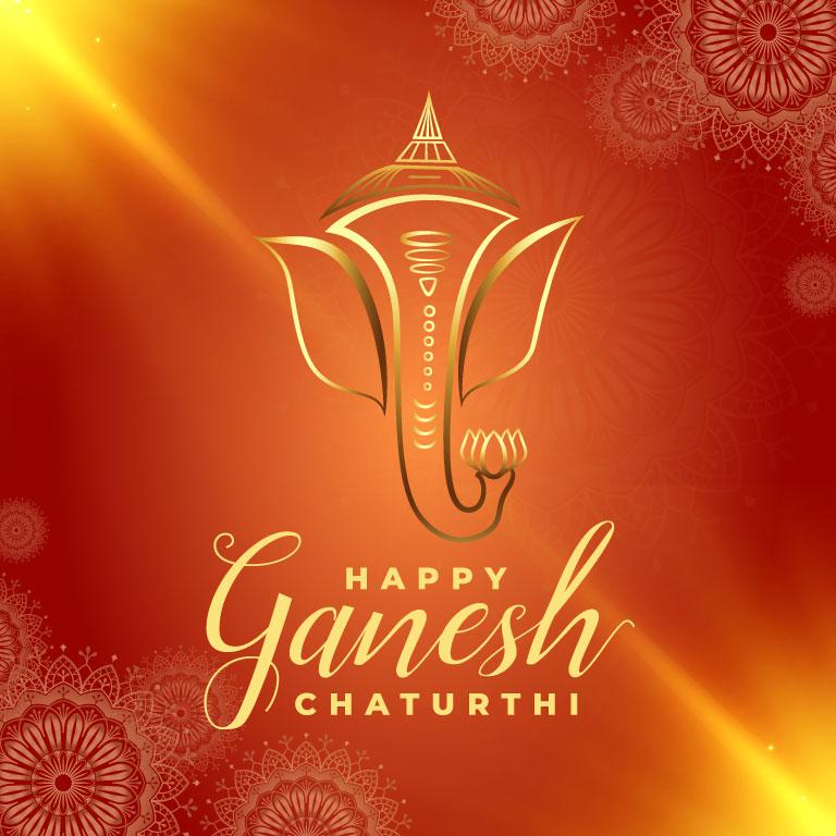 Ganesh Chaturthi Banner Free Vector