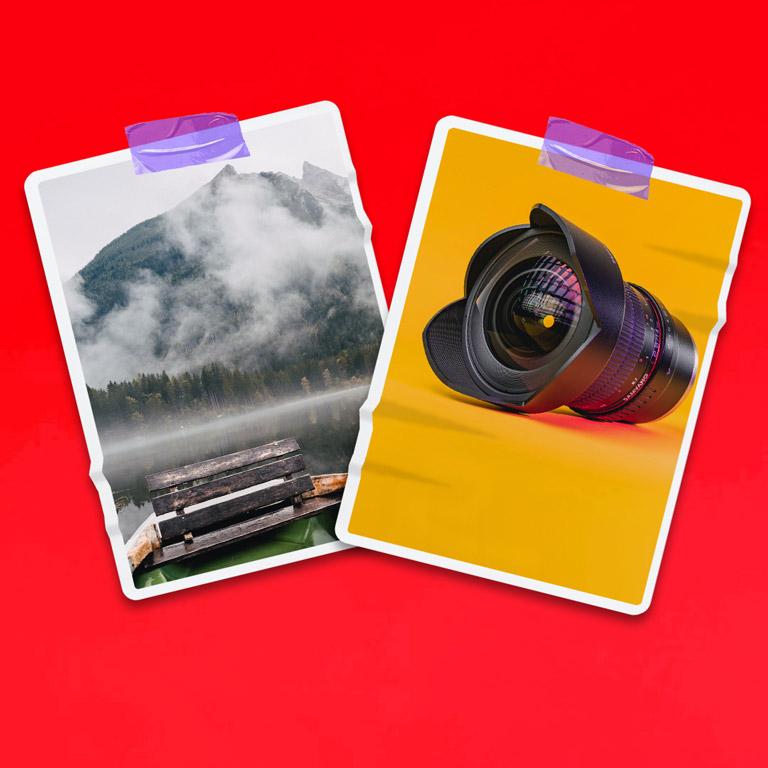 Photo Frame Mockup Free PSD