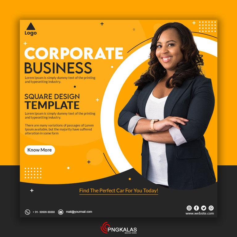 Corporate Digital Media Banner
