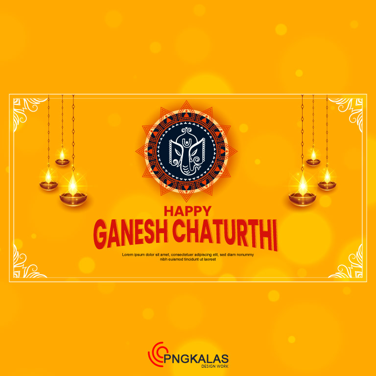 Ganesh Chaturthi Festival Banner
