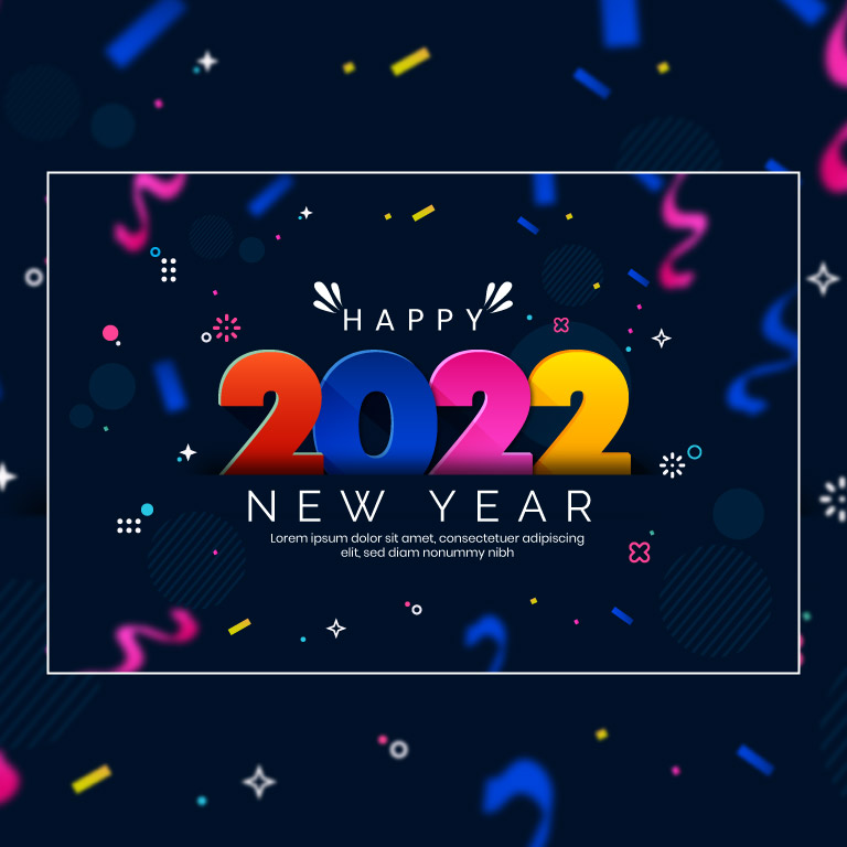 Happy New Year 2022 PNG