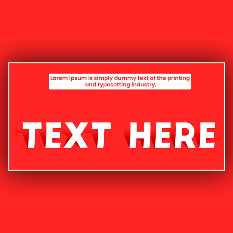 Paper Text Effect Free PSD