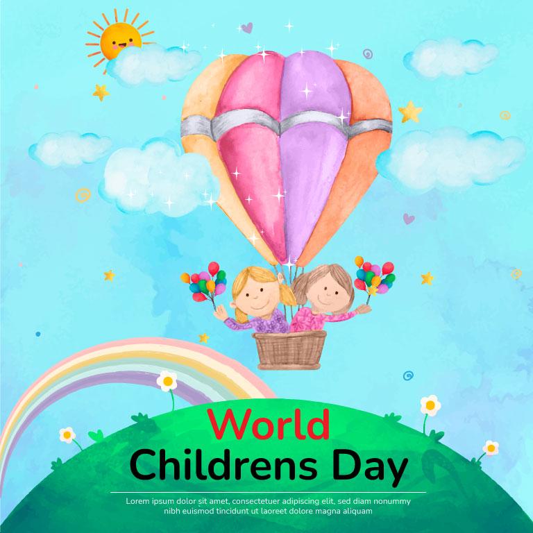 World Childrens Day Banner Design